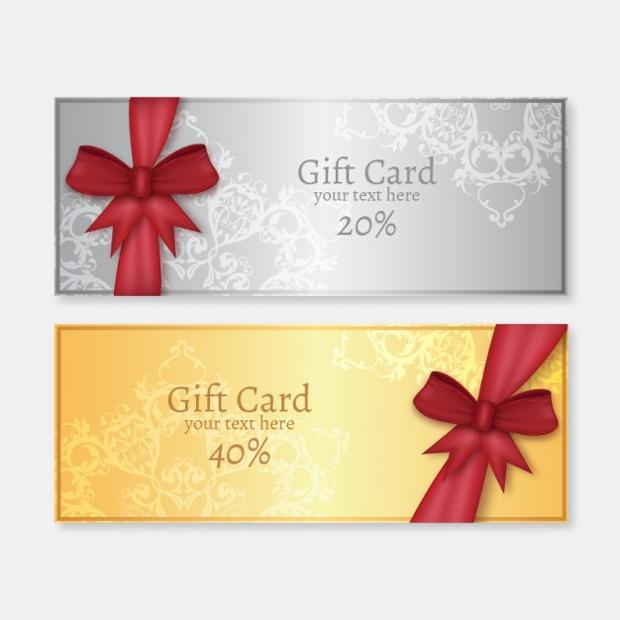 Minimalist Gift Card Design