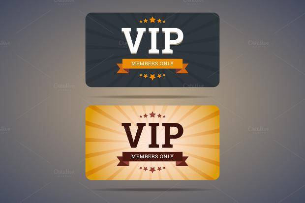 VIP Membership Card Template
