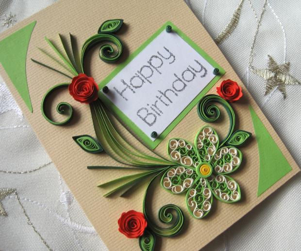 Handmade Birthday Card Design