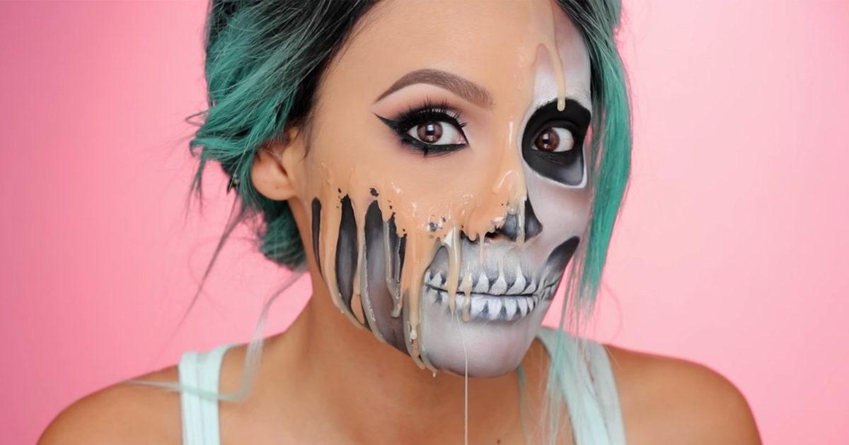 top 10 halloween makeup looks design trends premium psd vector