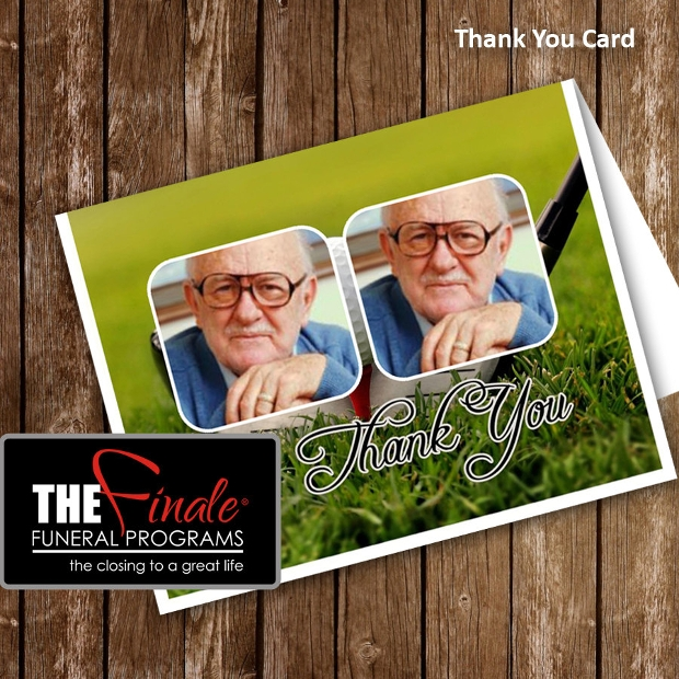 Funeral Thank You Card Design