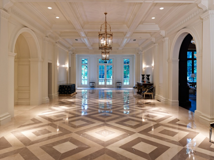 Victorian Hall Floor Design
