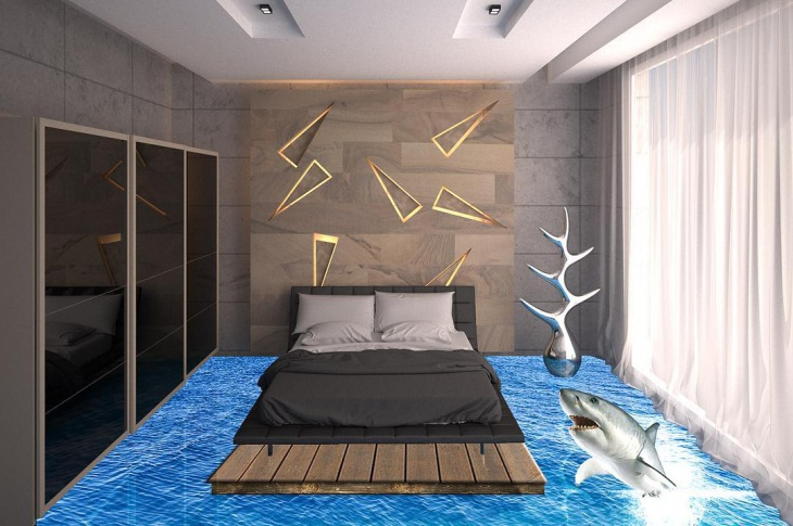 3D Bedroom Floor Design