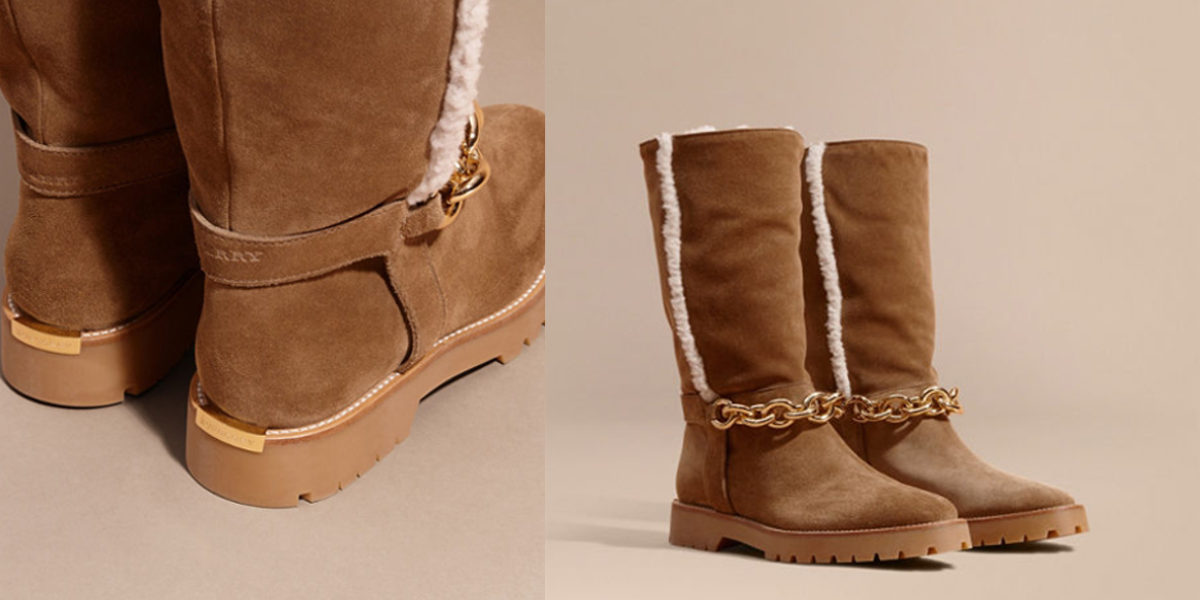 burberry-chain-detail-shearling-and-suede-boots