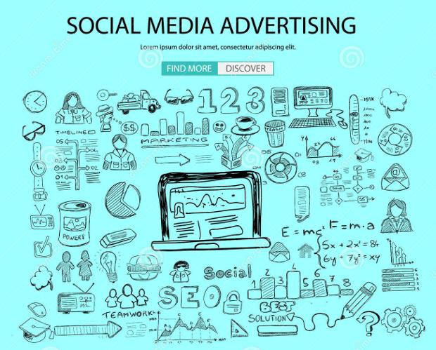 Social Media Advertising Design