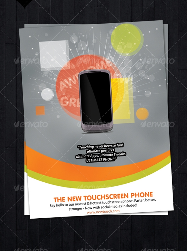 product advertising poster