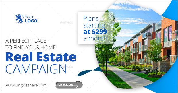 Real Estate Advertising Web Banner