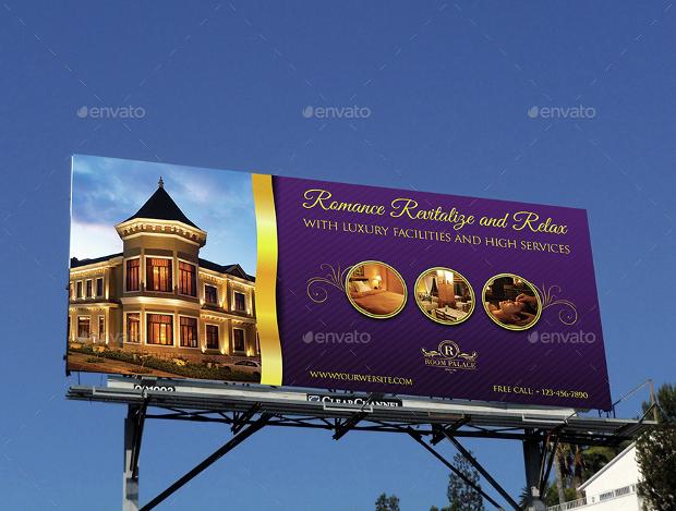 hotel billboard advertising