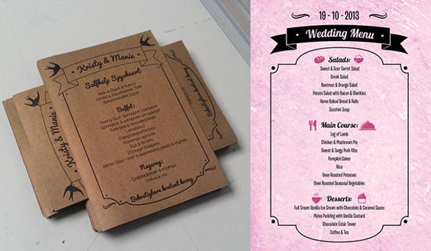 Printable Wedding Stationery