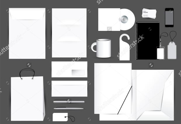 Editable Blank Stationery Design