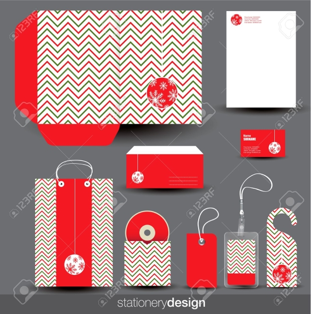 editable christmas stationery designs