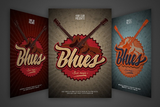 Blues Event Flyer