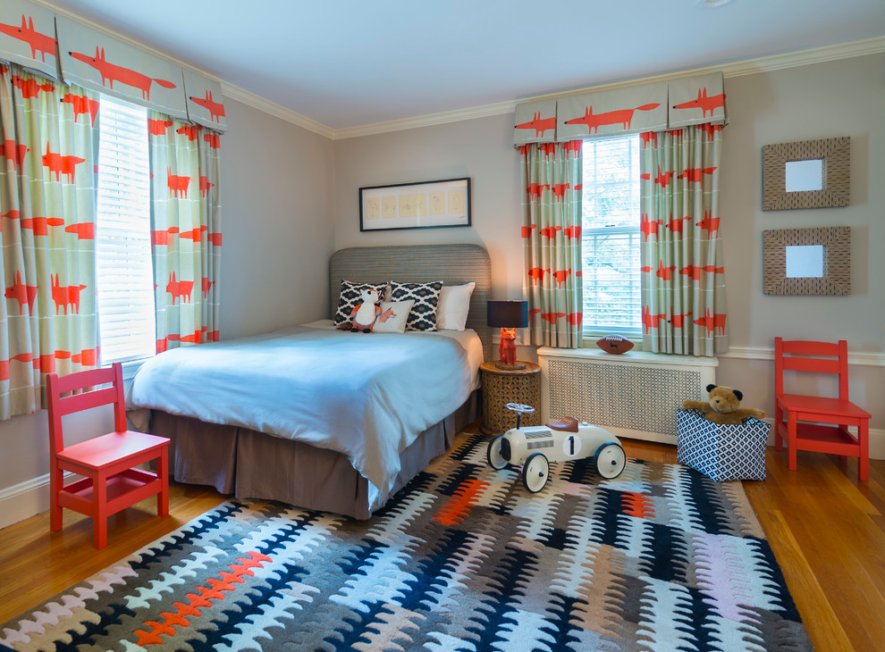 Modern Kids Room Curtains