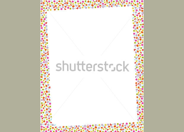 Border Design Vector Vintage Frames