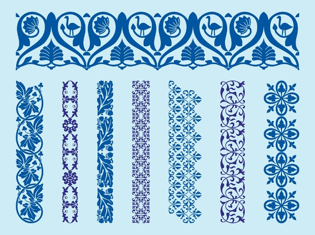 vintage decorative border design
