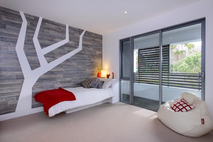 Modern Kids Room Wall Design