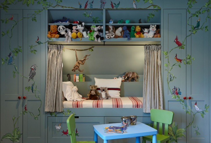 Traditional Small Kids Room Design