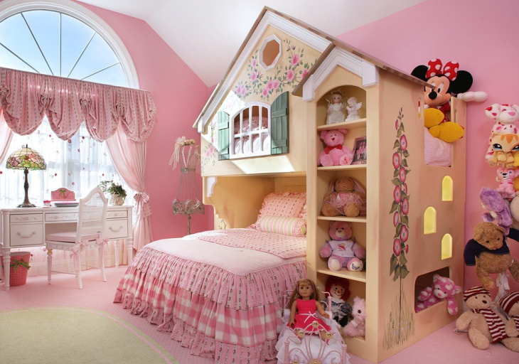 Traditional Cottage Kids Room
