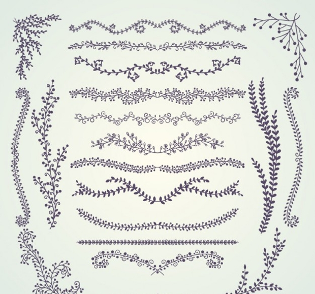 vintage decorative border
