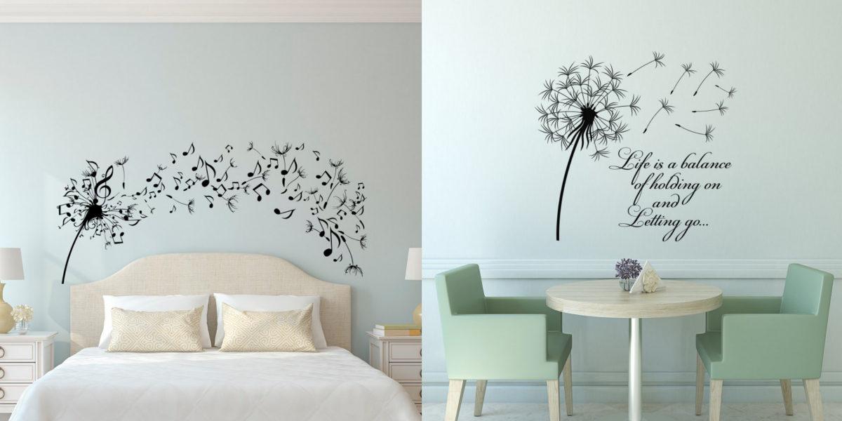 dandelion-decal