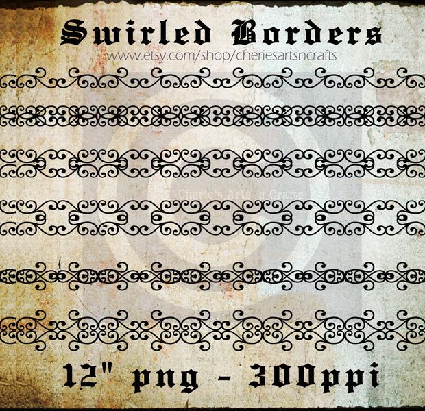 Gothic Page Border Design