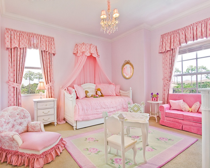 Traditional Kids Room for Girls