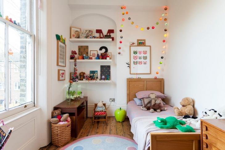 Eclectic Kids Bedroom Idea
