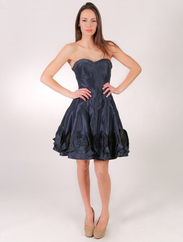 short black prom dress