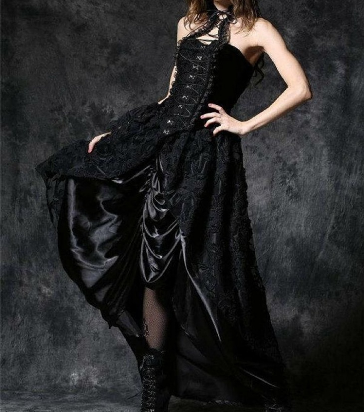 Gothic Victorian Prom Dress