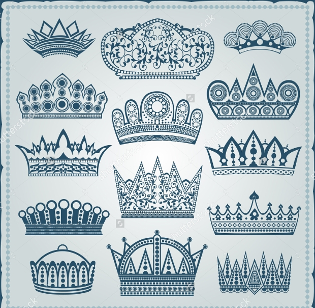 royal crown silhouette