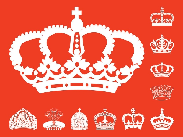 Monarchy Crown Silhouette