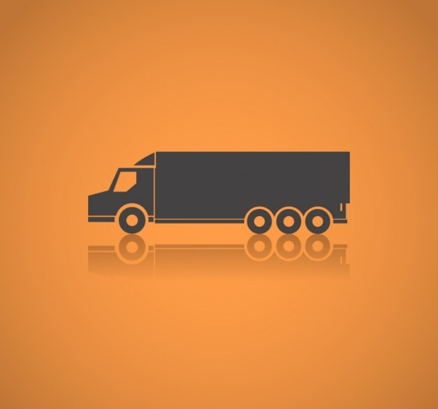Long Truck Silhouette