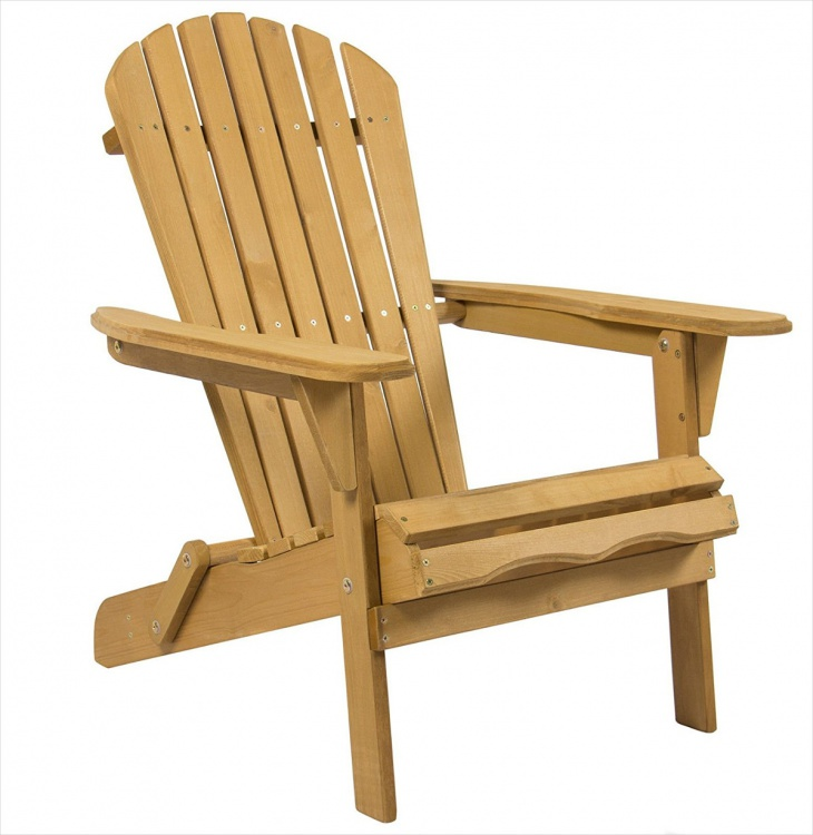 Wooden Deck Chair Design