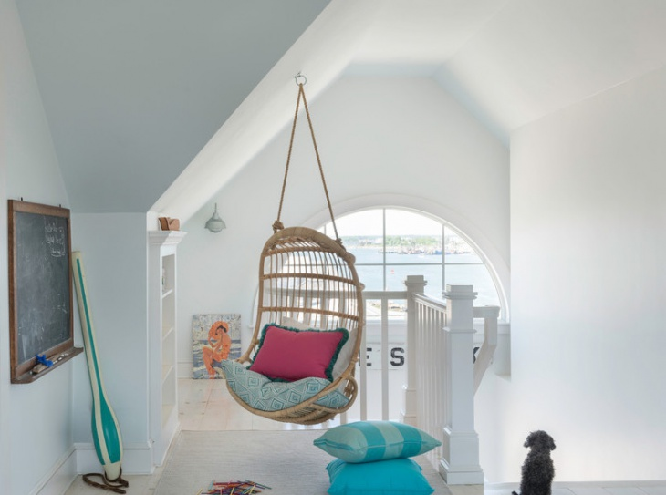 Hanging Wooden Chair Design