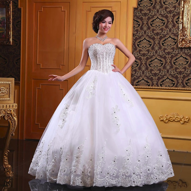 vintage beaded wedding dress