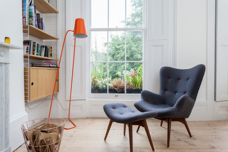 Scandinavian Arm Chair Design