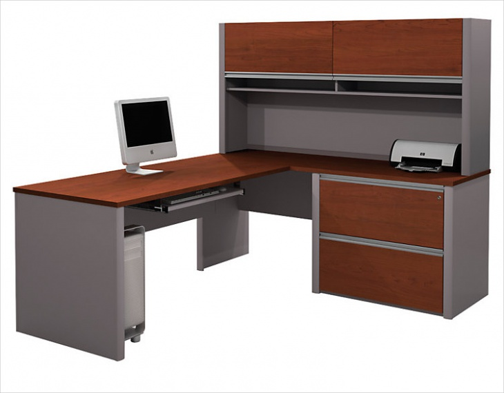 L Shaped Office Table Design