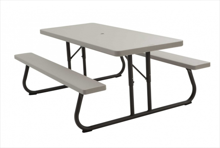 Folding Picnic Table Design