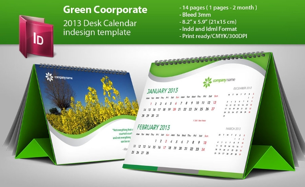 30 Calendar Designs Psd Ai Indesign Eps Design