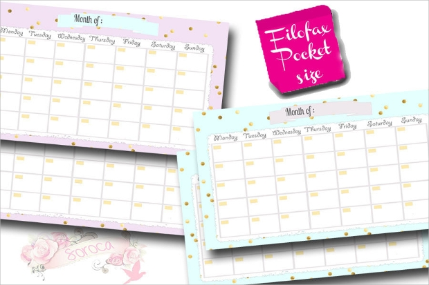 Pocket Calendar Design : Calendar designs psd ai indesign eps design