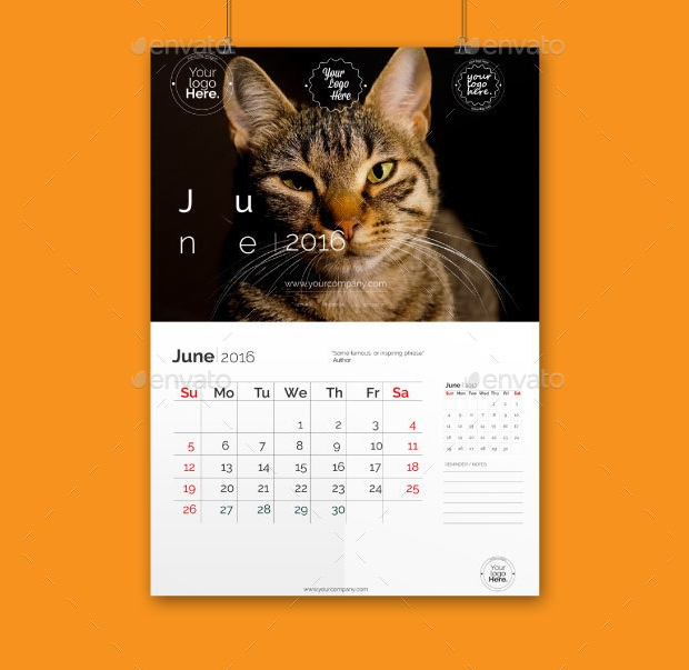 Calendar Design Photo : Calendar designs psd ai indesign eps design