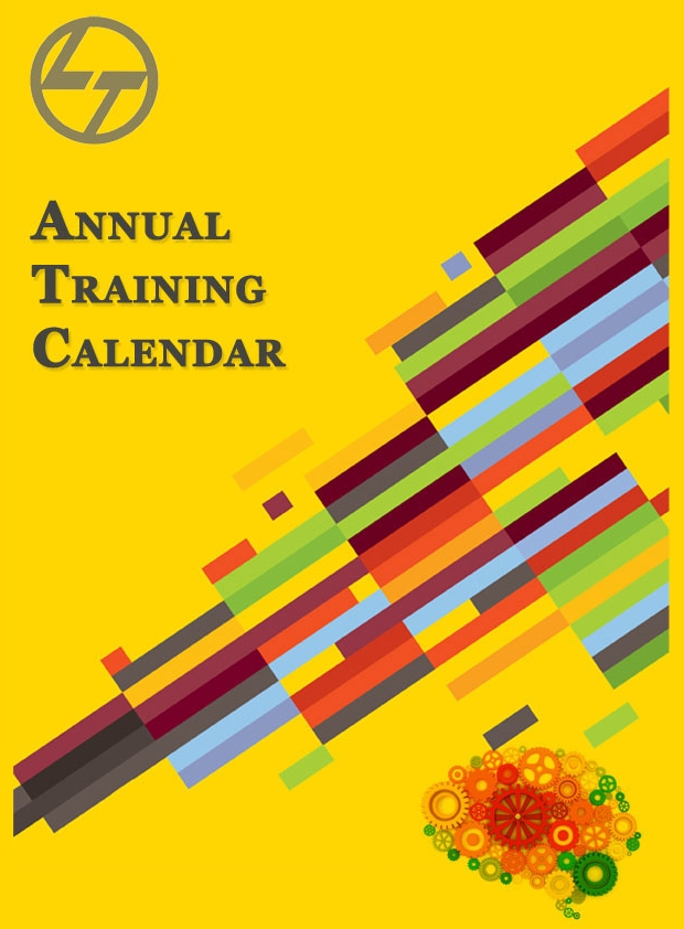 annual training calendar design