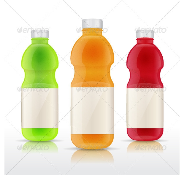 juice bottle vector
