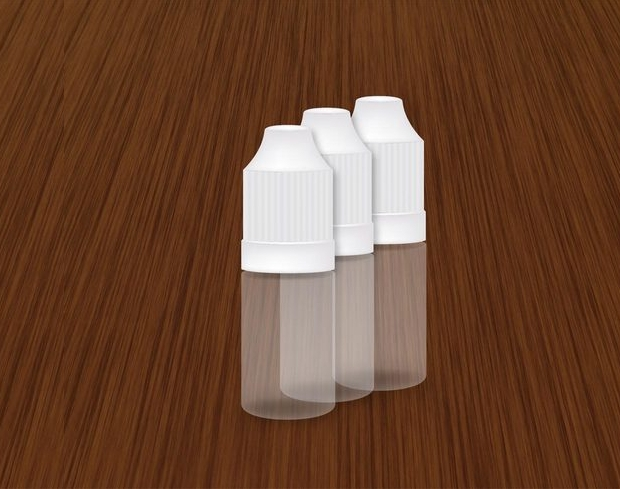 plastic dropper bottle vector