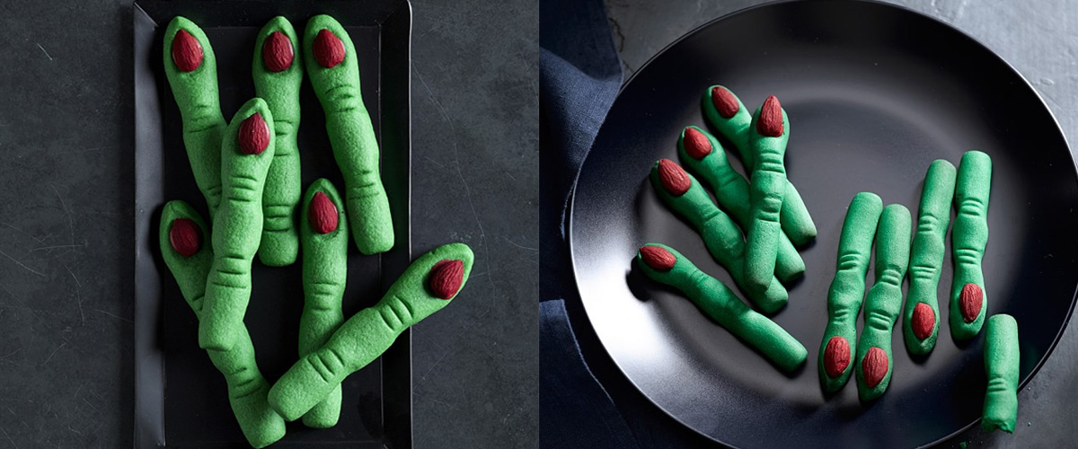 Williams-Sonoma Shortbread Witch Finger Cookies