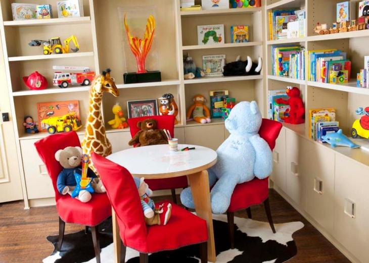 Kids Toy Shelves Design