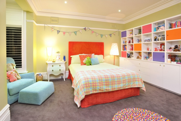 children bedroom storage idea