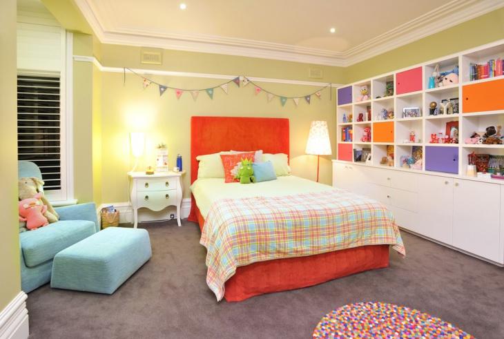 Children Bedroom Storage Idea