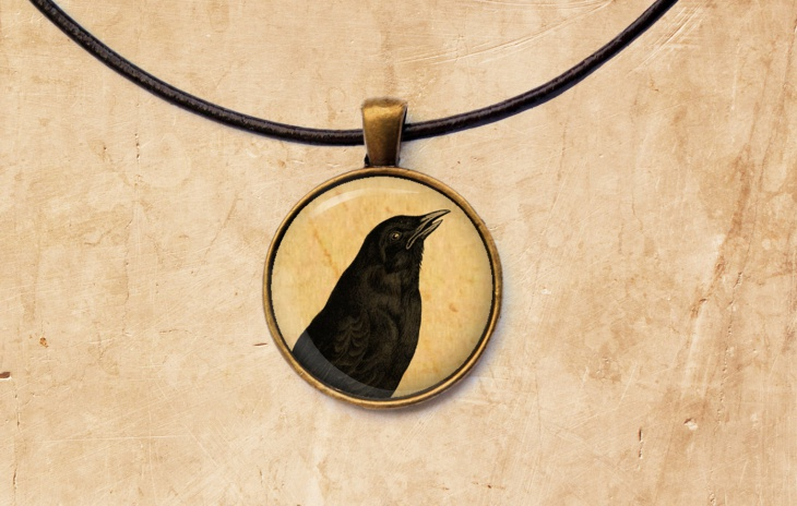 Antique Bird Pendant