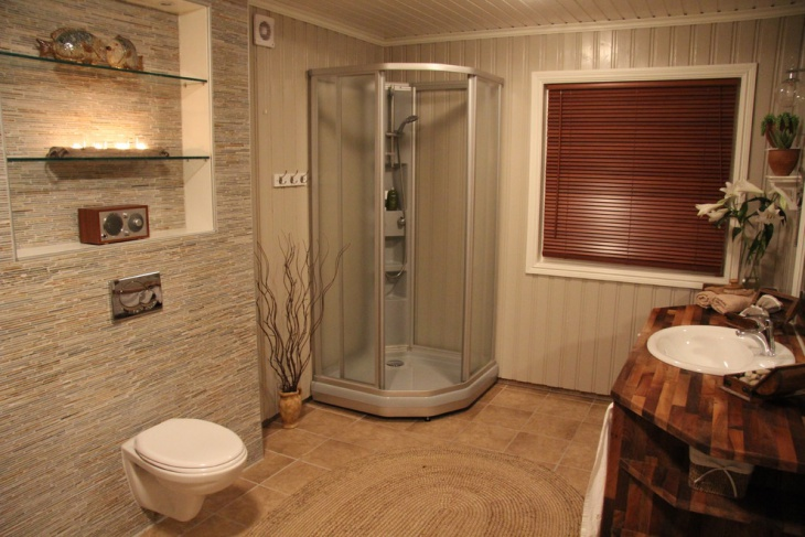 corner steam shower units